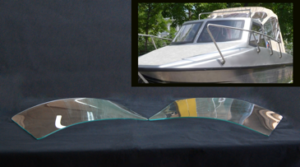 Гнутые стекла на катера